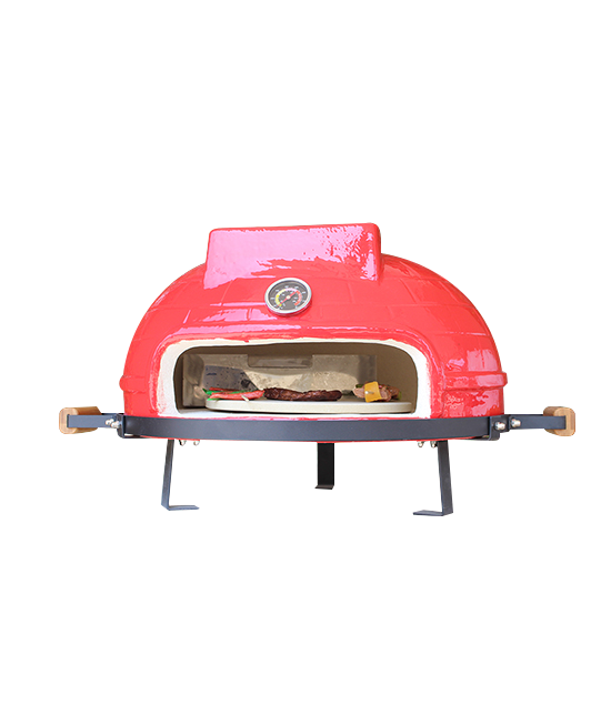 "21"" TABLETOP PIZZA OVEN KAMADO(RED)"