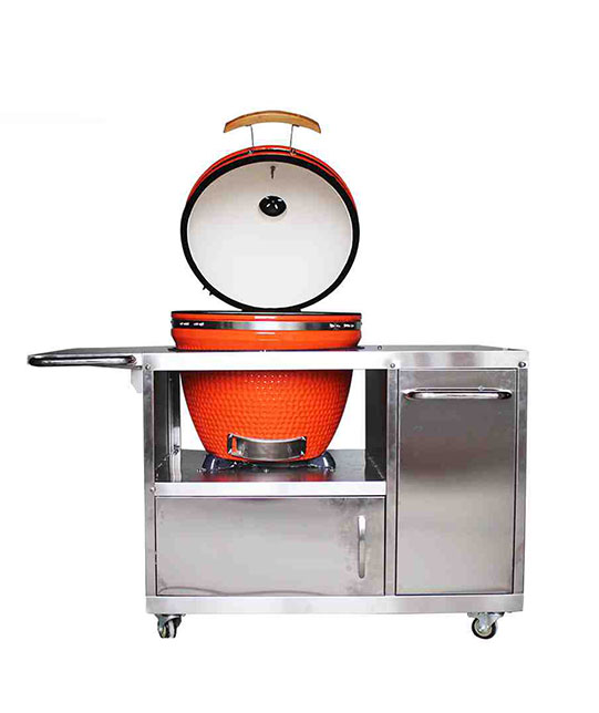 KAMADO WITH SS TABLE